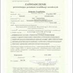 Dyplom - zoopsycholog